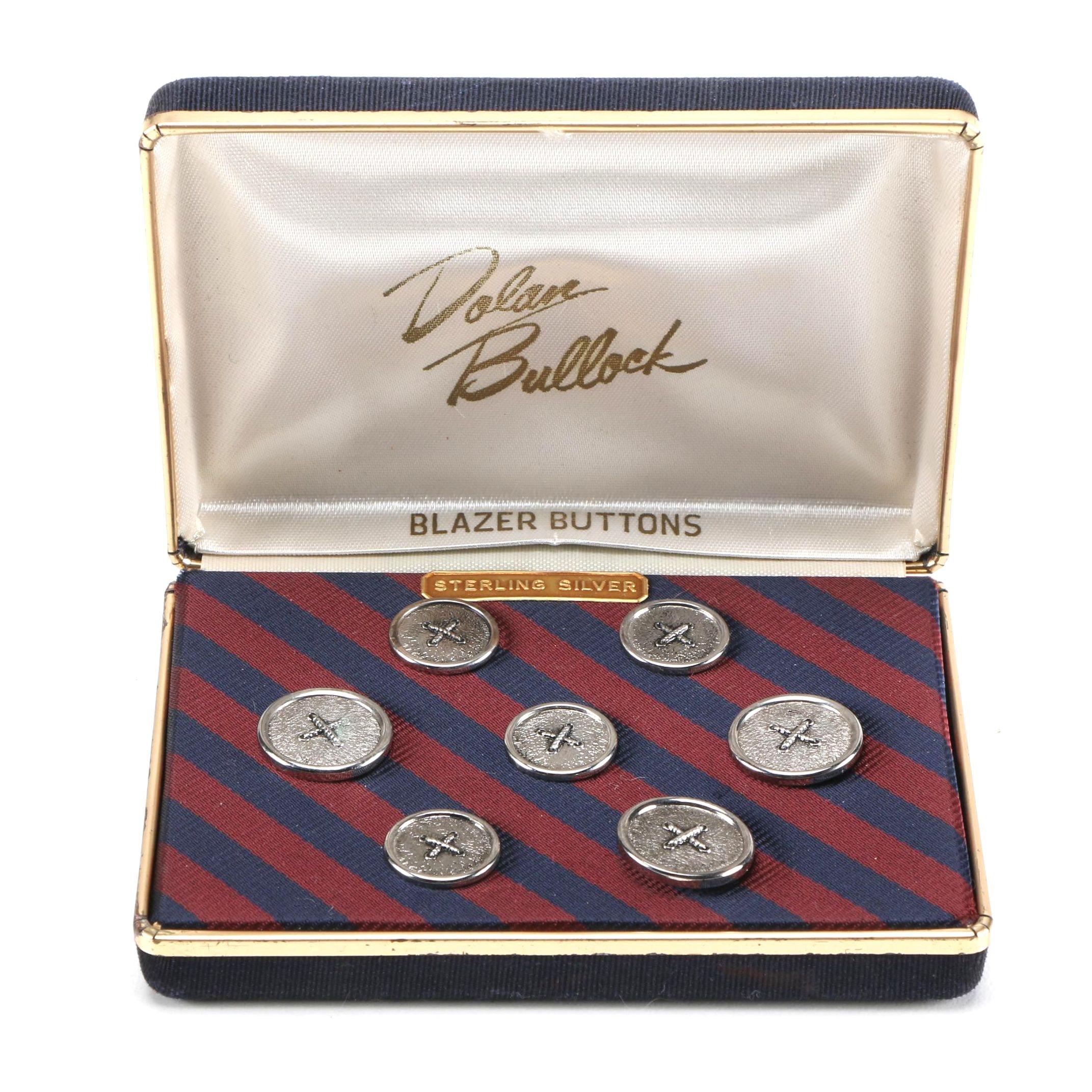 Sterling Silver Blazer Buttons by Dolan Bullock
