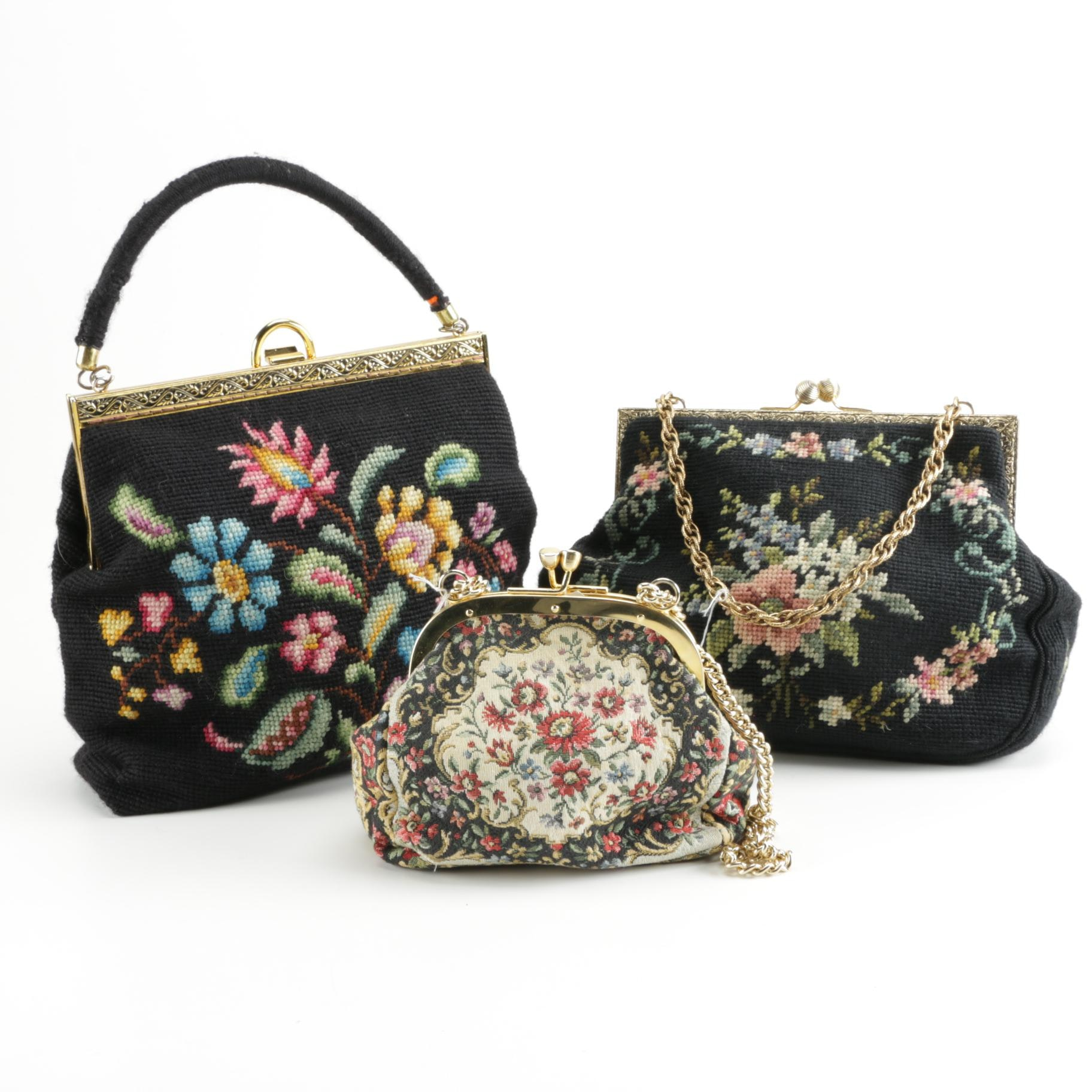 Needlepoint Evening Bags