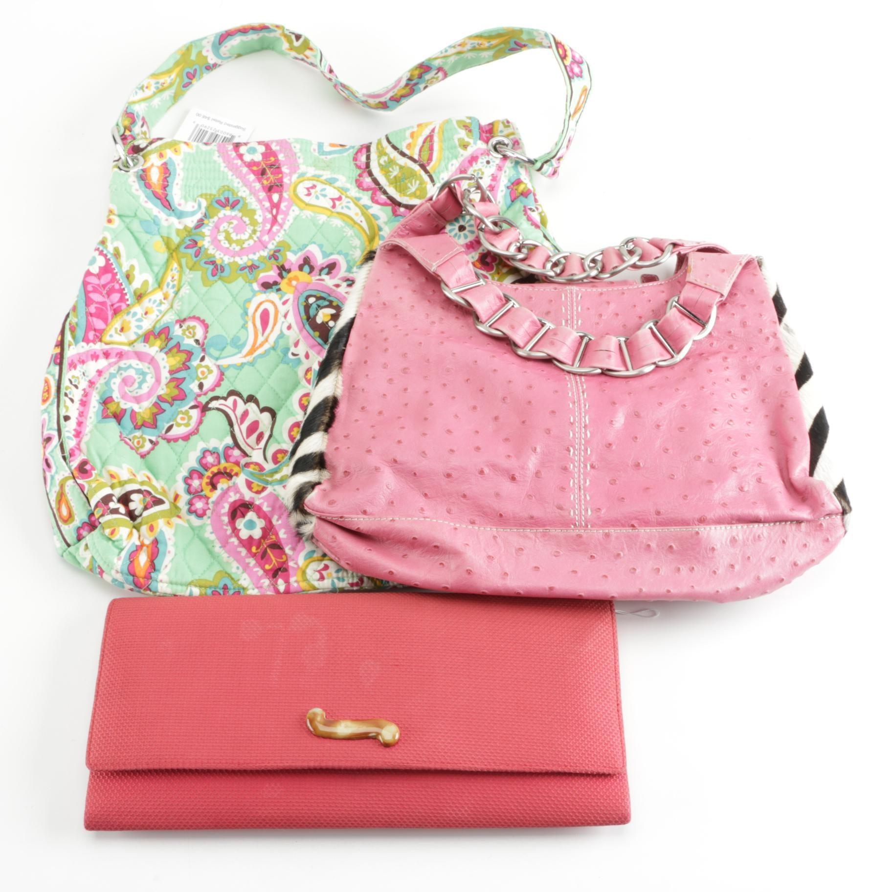Handbags and Clutch Including Vera Bradley