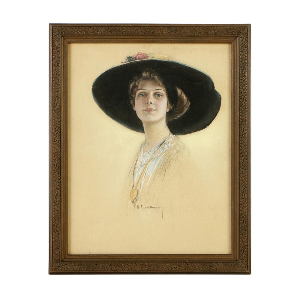 Ruth Heilprin Hammerslough O'Neill Portrait of a Woman