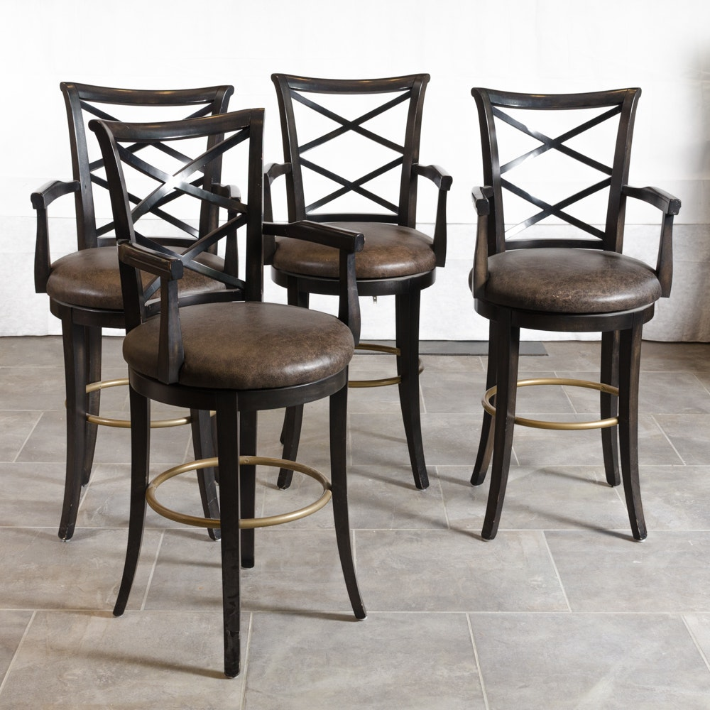 Attractive Contemporary Bar Stools By Duralee Fine Furniture ...