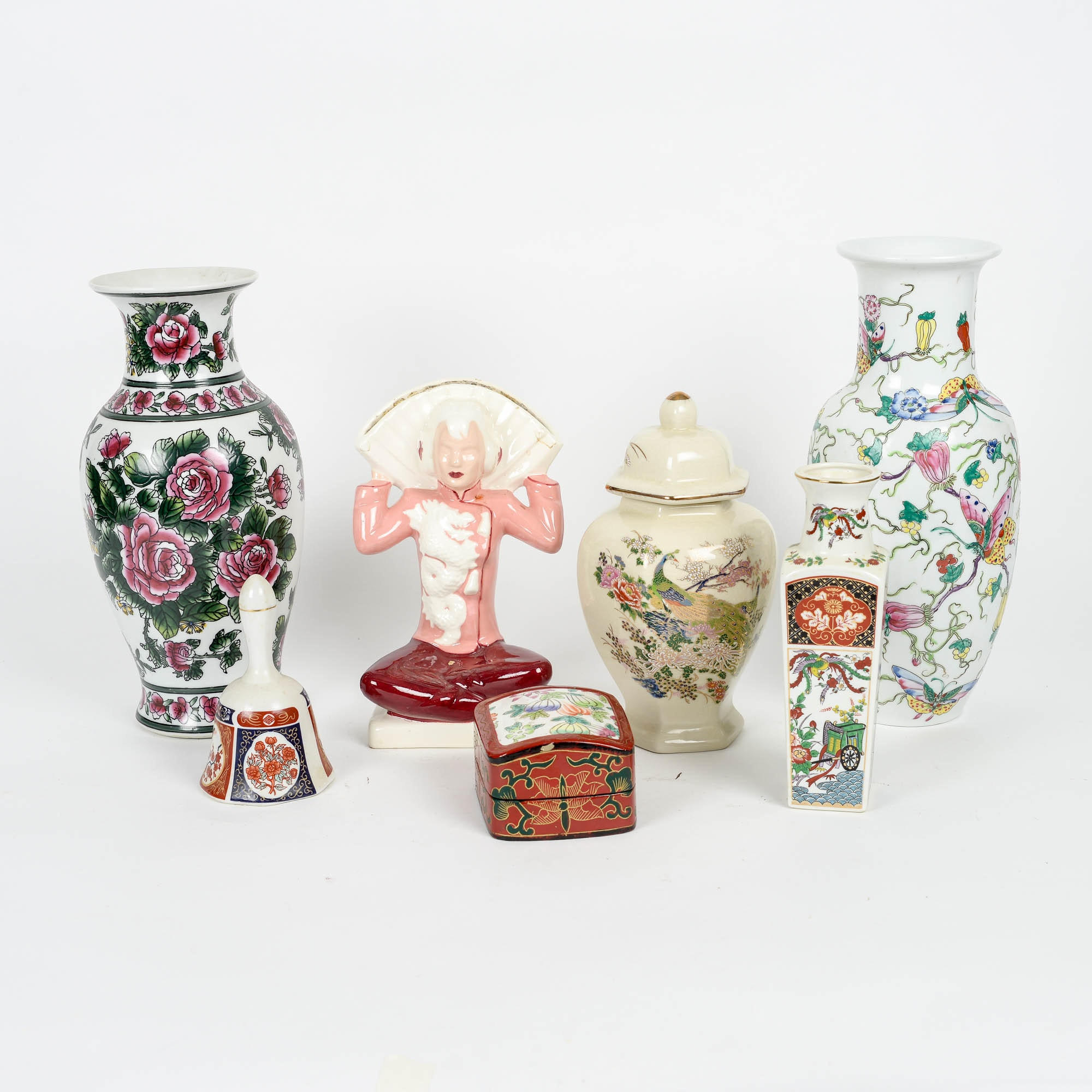 Collection of Asian Inspired Home Decor