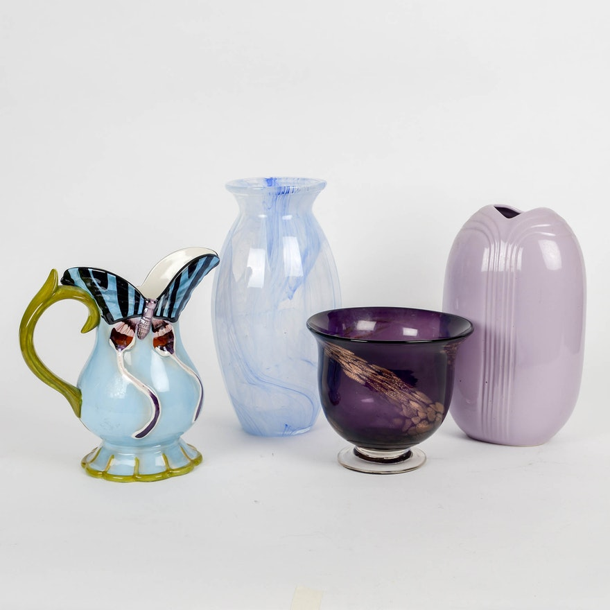 Collection Of Contemporary Vase Ebth