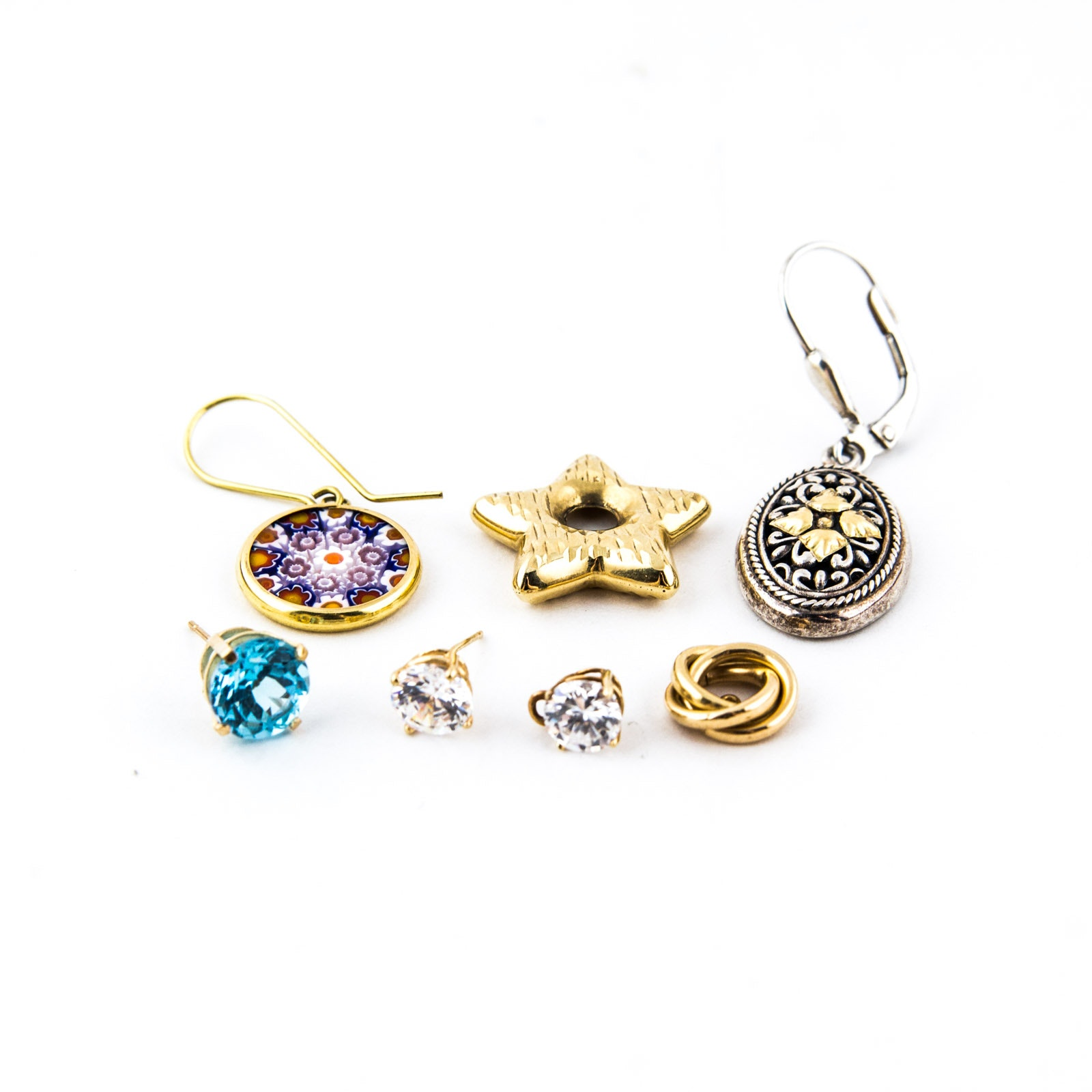 Gold and Silver Jewelry Assortment