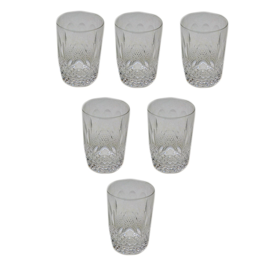 Set of Waterford Crystal Tumblers