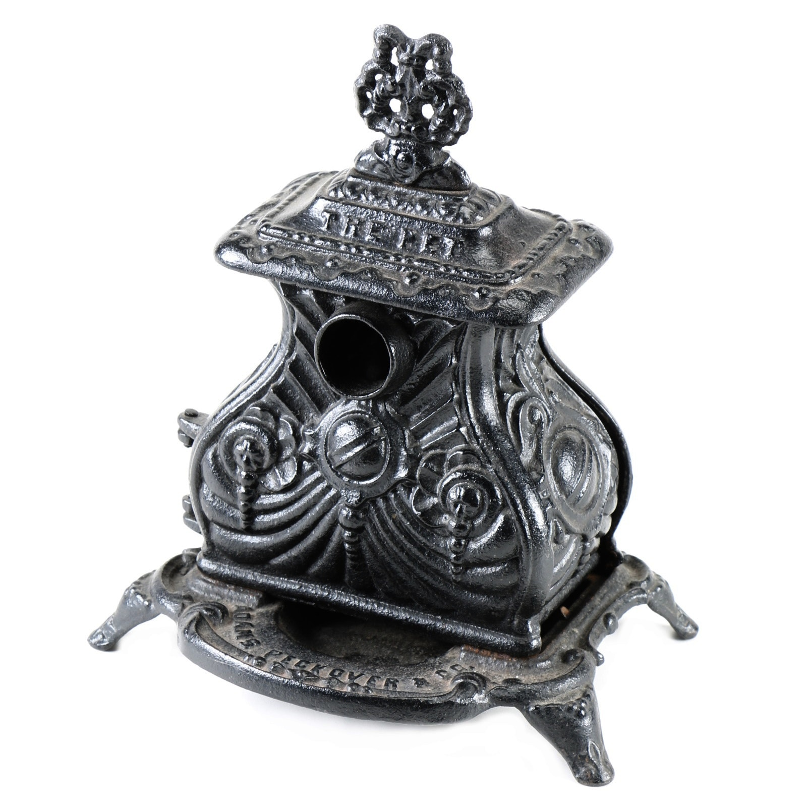 "19th Century ""The Pet"" Toy Cast Iron Stove"
