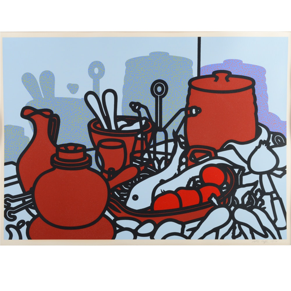 Patrick Caulfield Limited Edition Serigraph