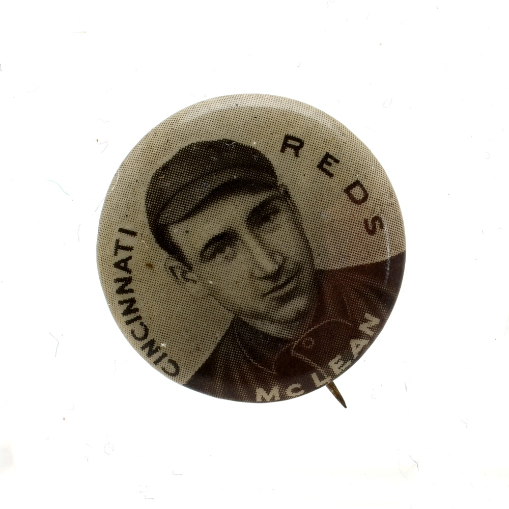 1910-1912 Larry McLean Reds Sweet Caporal Pin