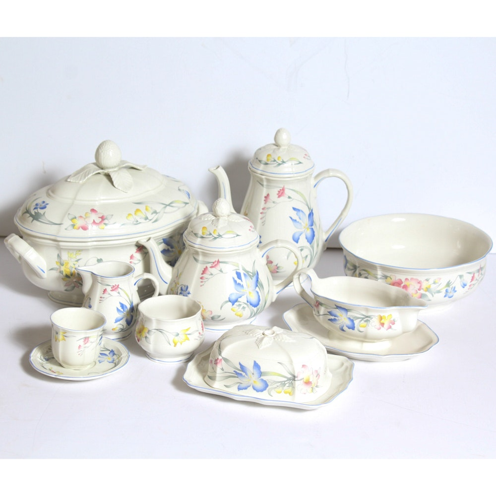 """Collection of Villeroy and Boch """"Riviera"""" Dinnerware"""