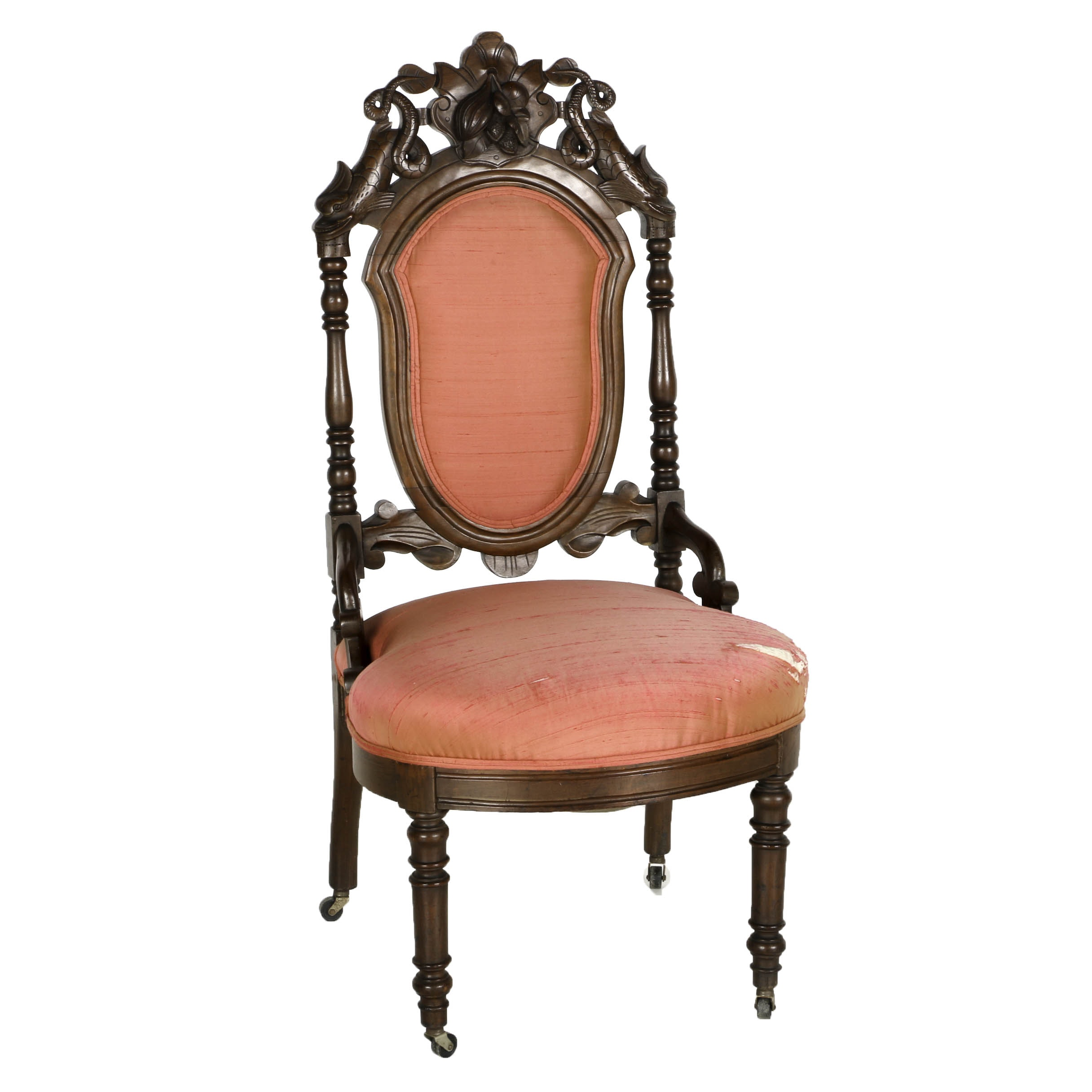 Late 19th Century Victorian Parlor Chair