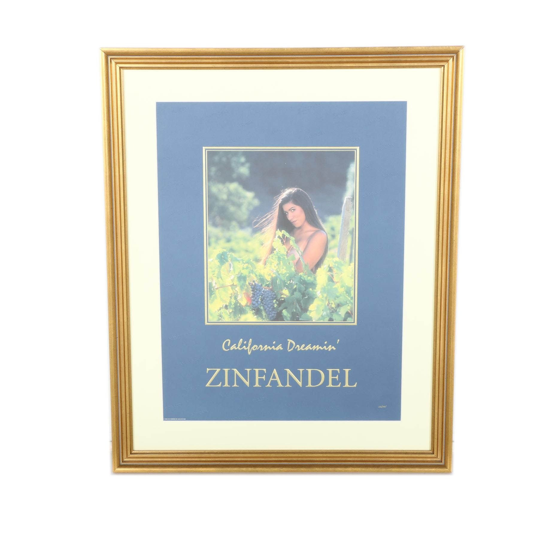 Limited Edition California Dreamin' Zinfandel Print