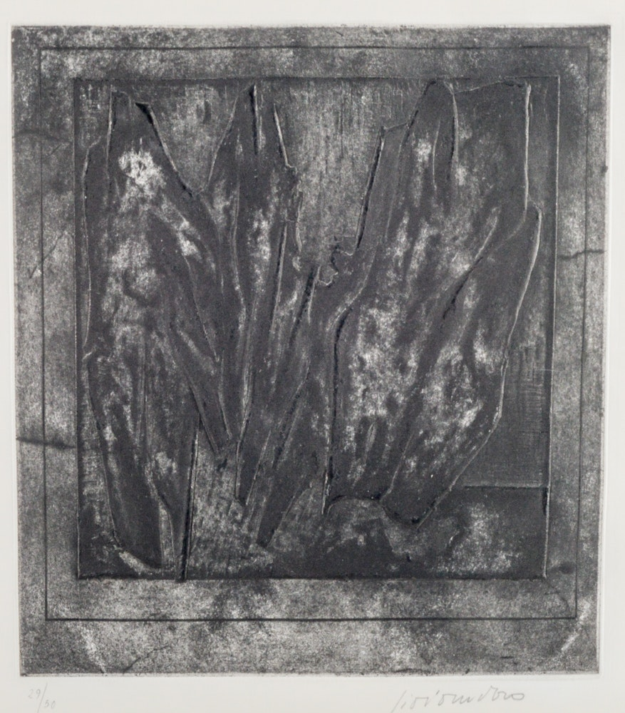 Limited Edition Signed Embossed Etching