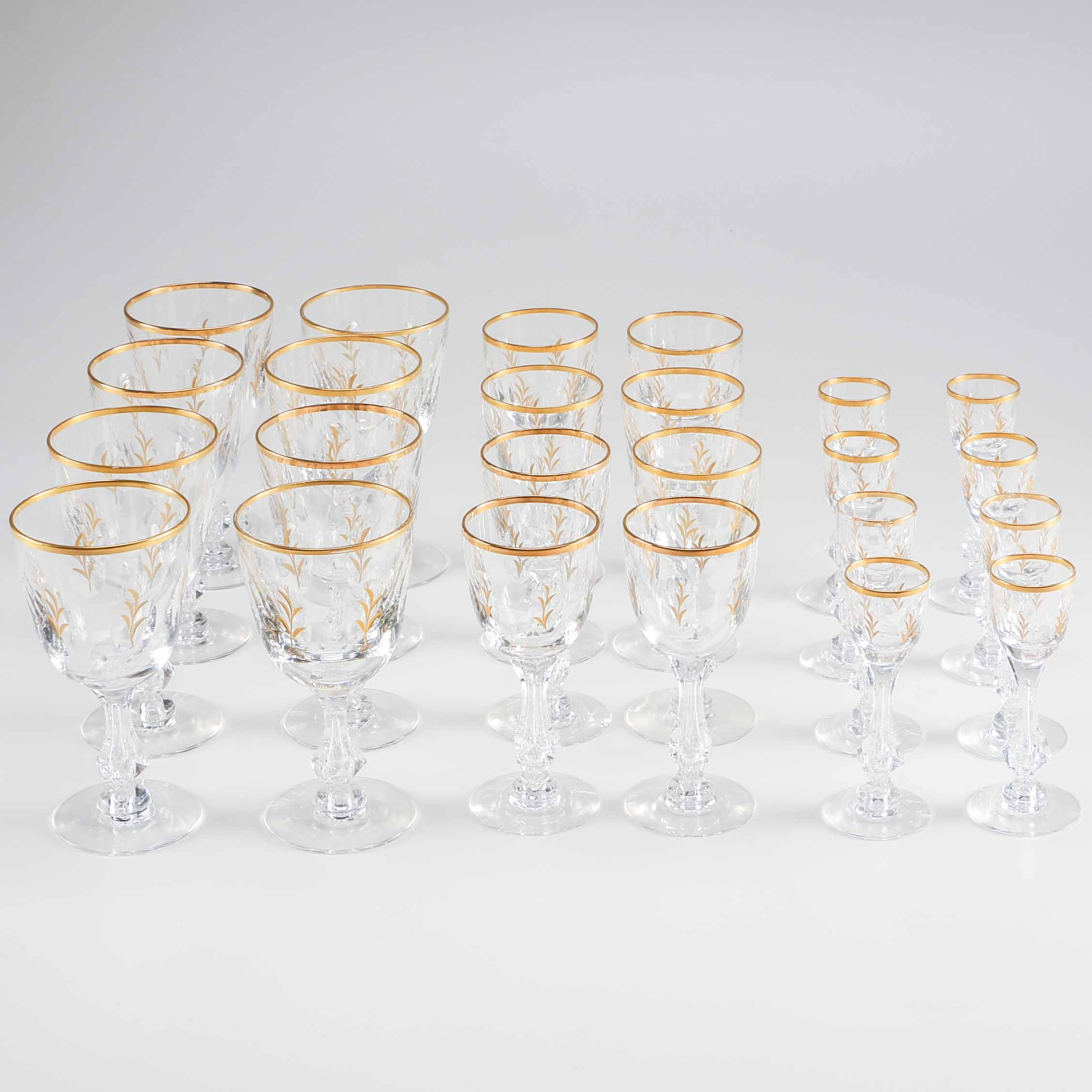 Chalet Crystal Stemware by Tiffin-Franciscan