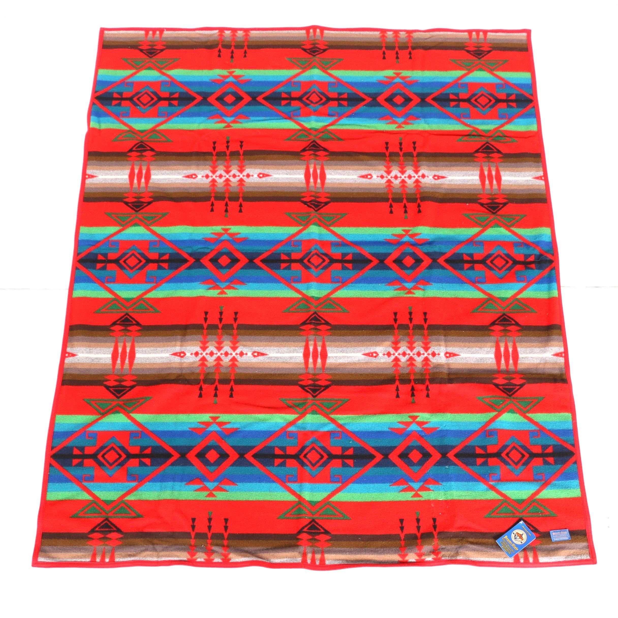 "Pendleton Woolen Mills ""Indian Friendship"" Blanket"