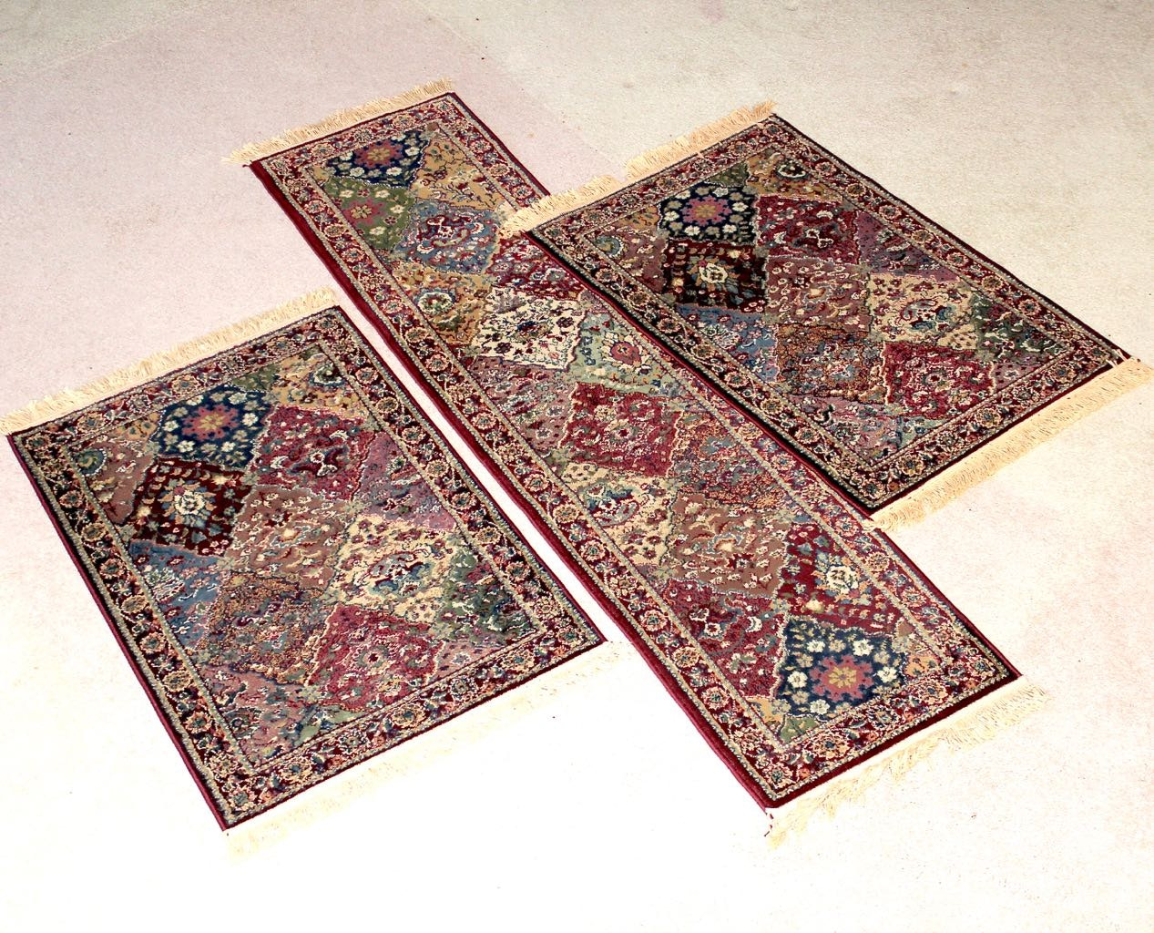 how to clean olefin area rug