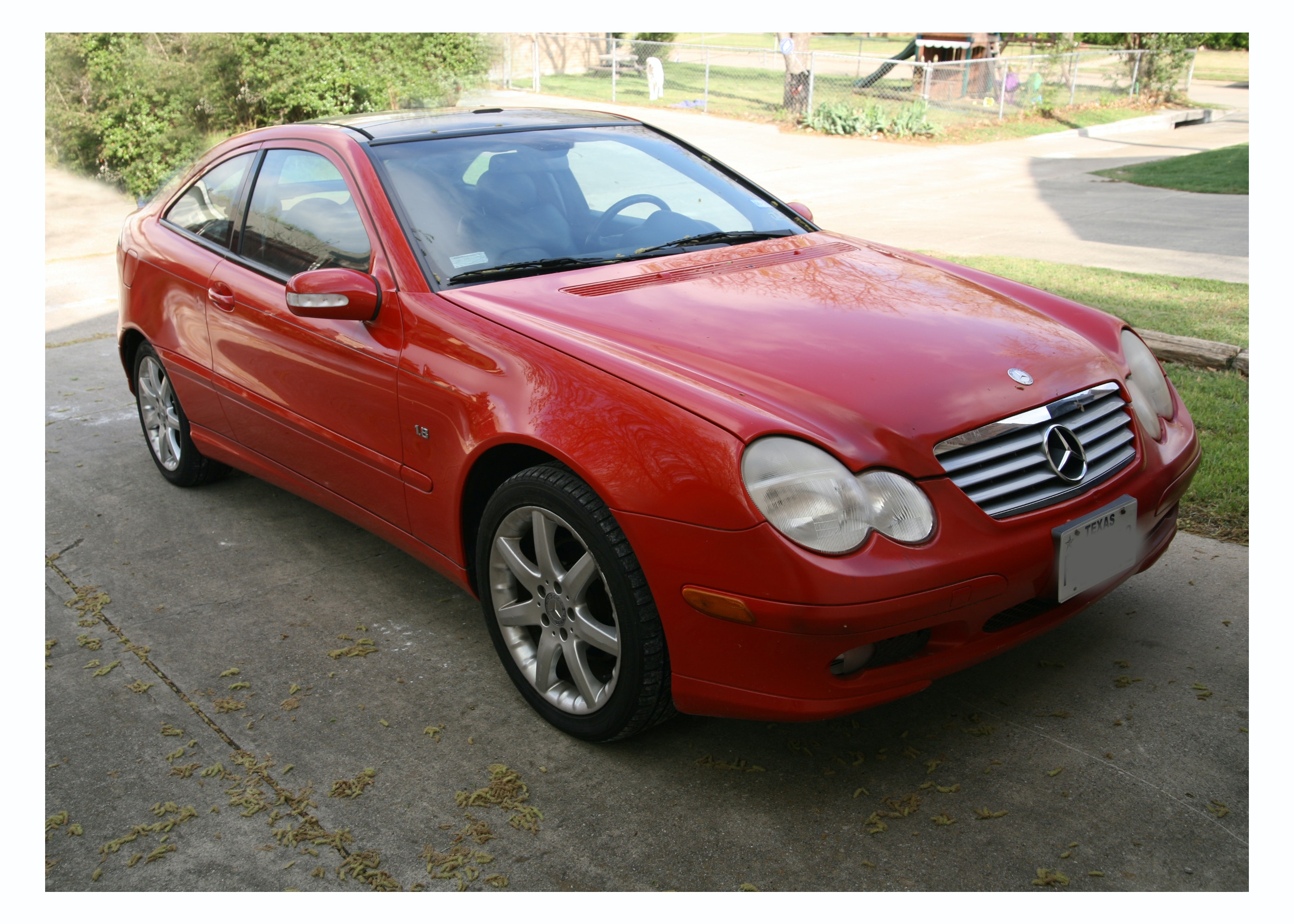 2003 Mercedes-Benz C230 Kompressor 2-Door Coupe