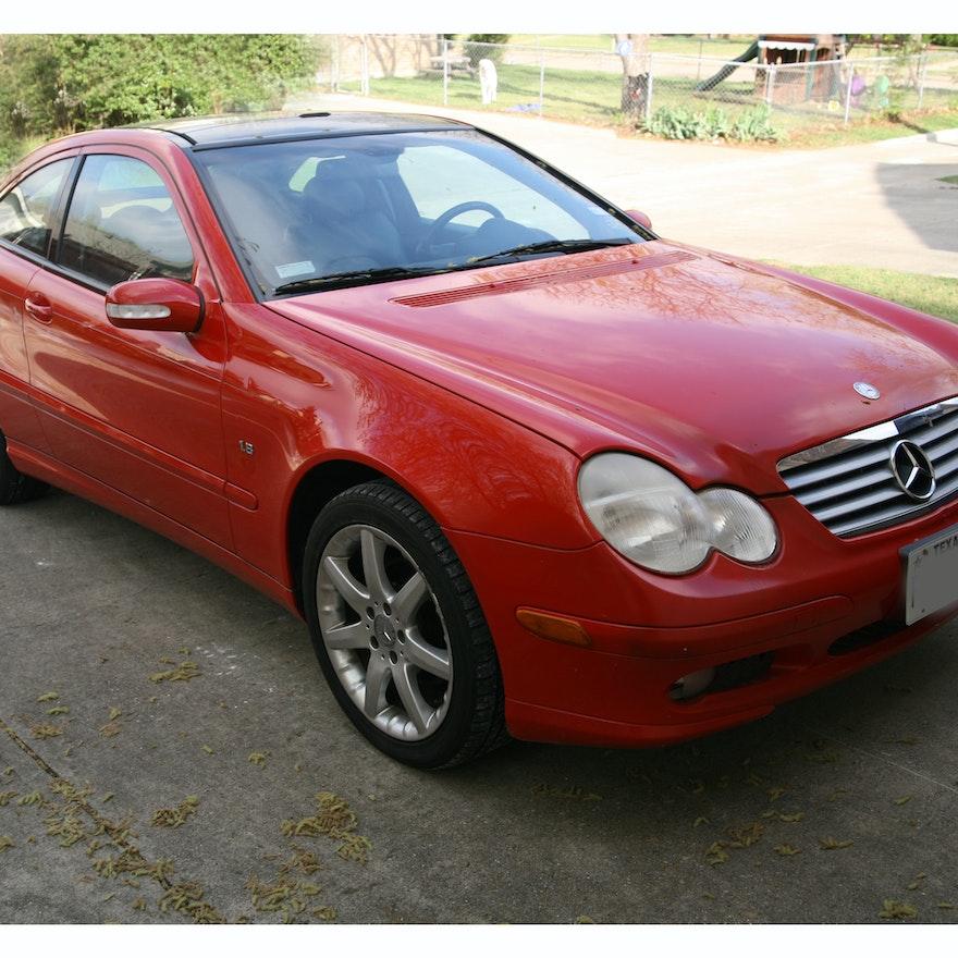 2003 Mercedes-Benz C230 Kompressor 2-Door Coupe : EBTH
