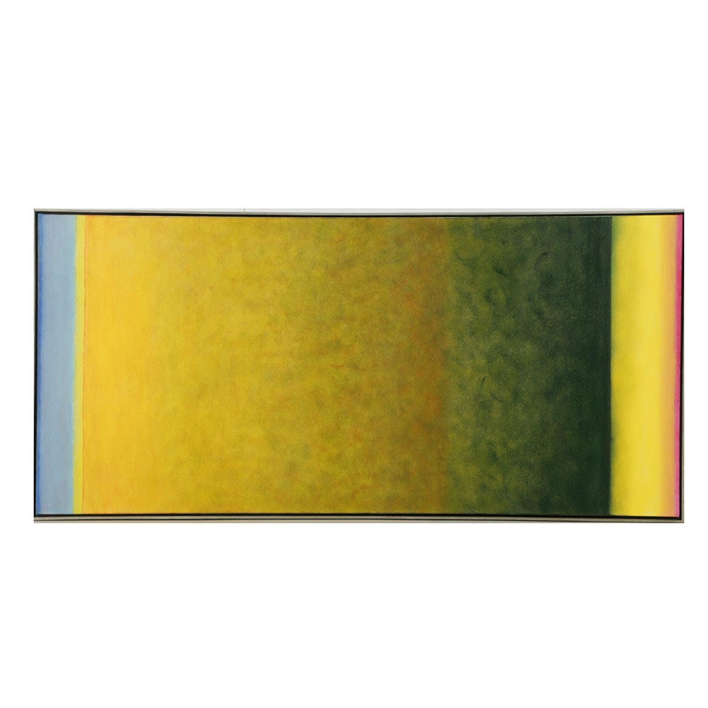 """Beth Hertz Oil Painting on Canvas """"Desert Bloom"""""""