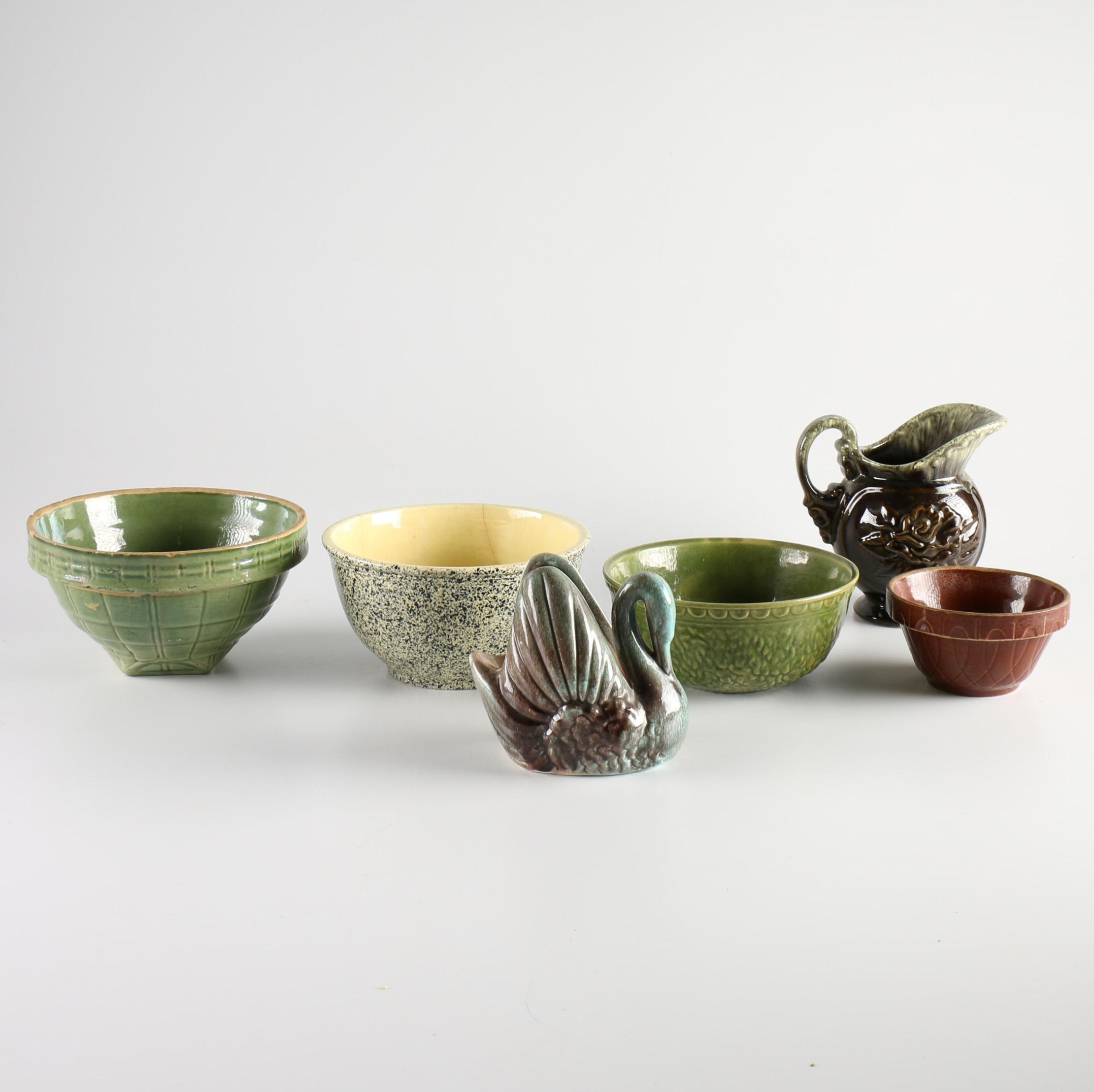 Stoneware Featuring Hull and Haeger