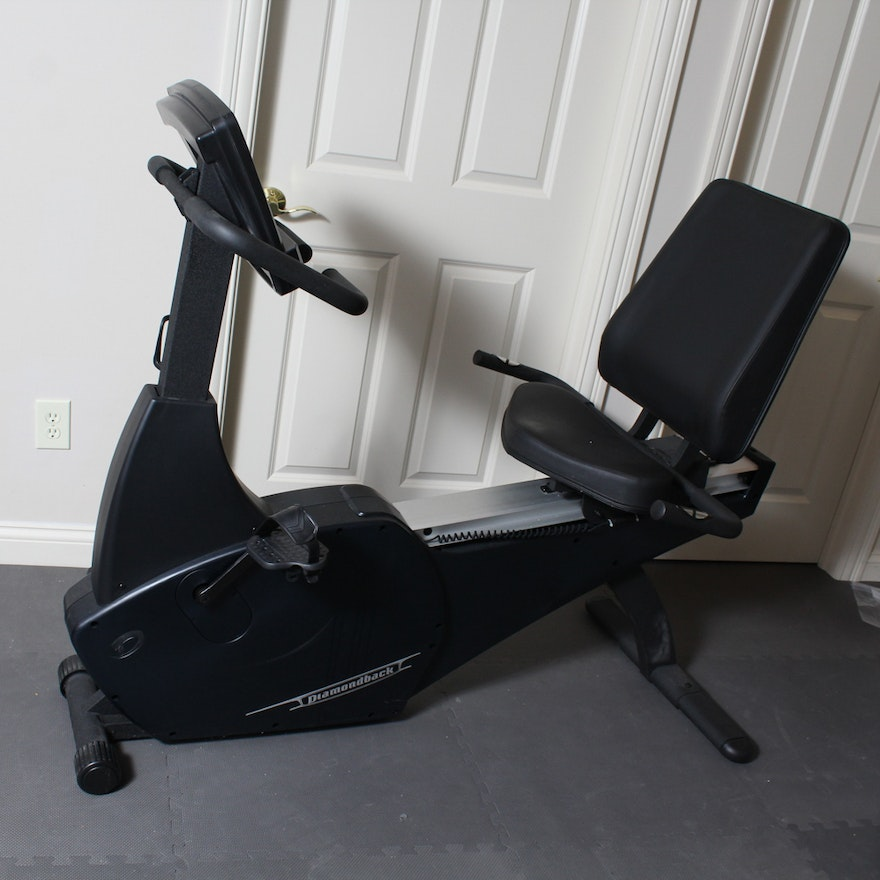 Exercise Bike For Disabled: Diamondback 1150 Recumbent Exercise Bicycle : EBTH