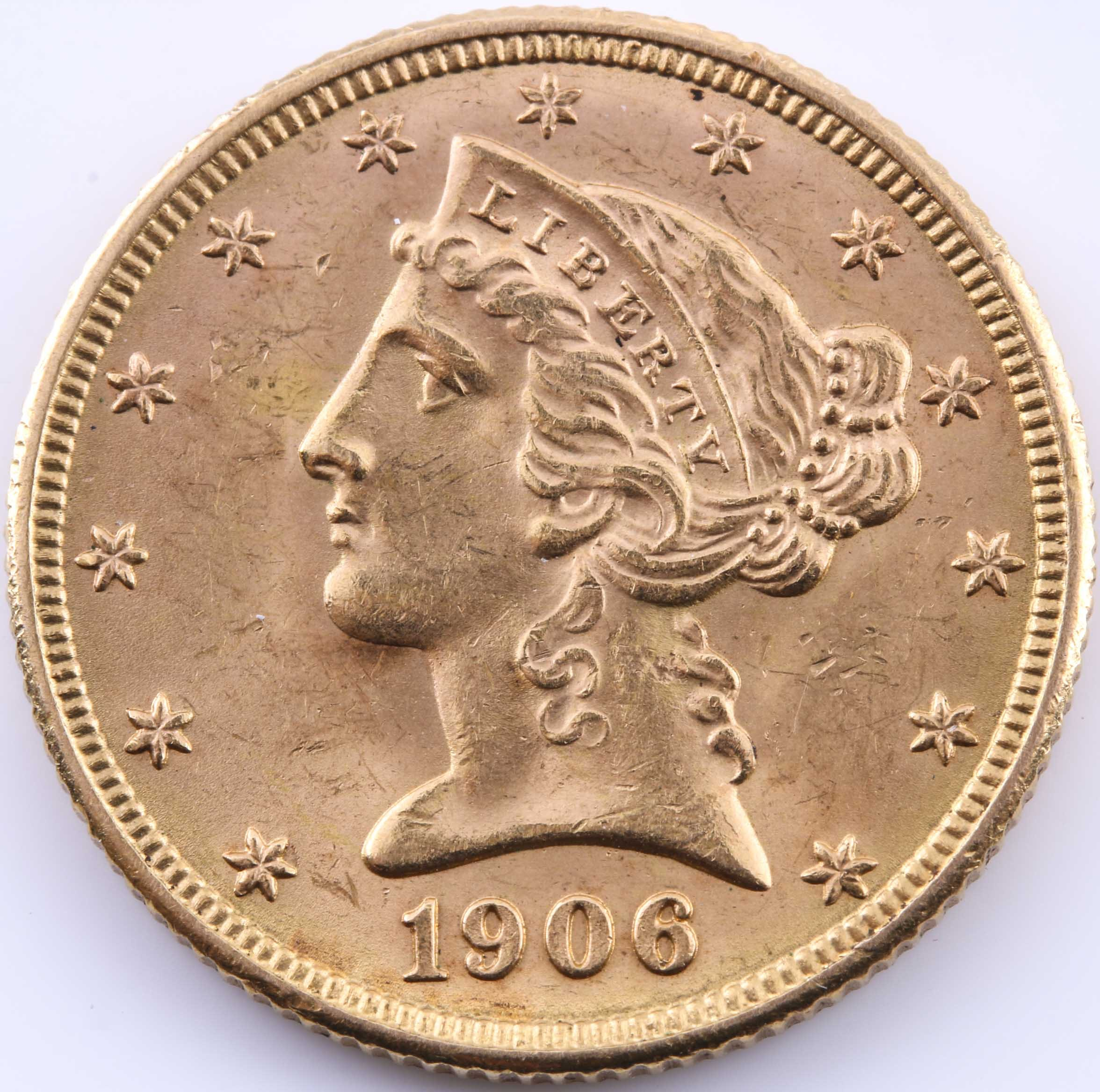 1906 D Liberty Head $10 Gold Coin