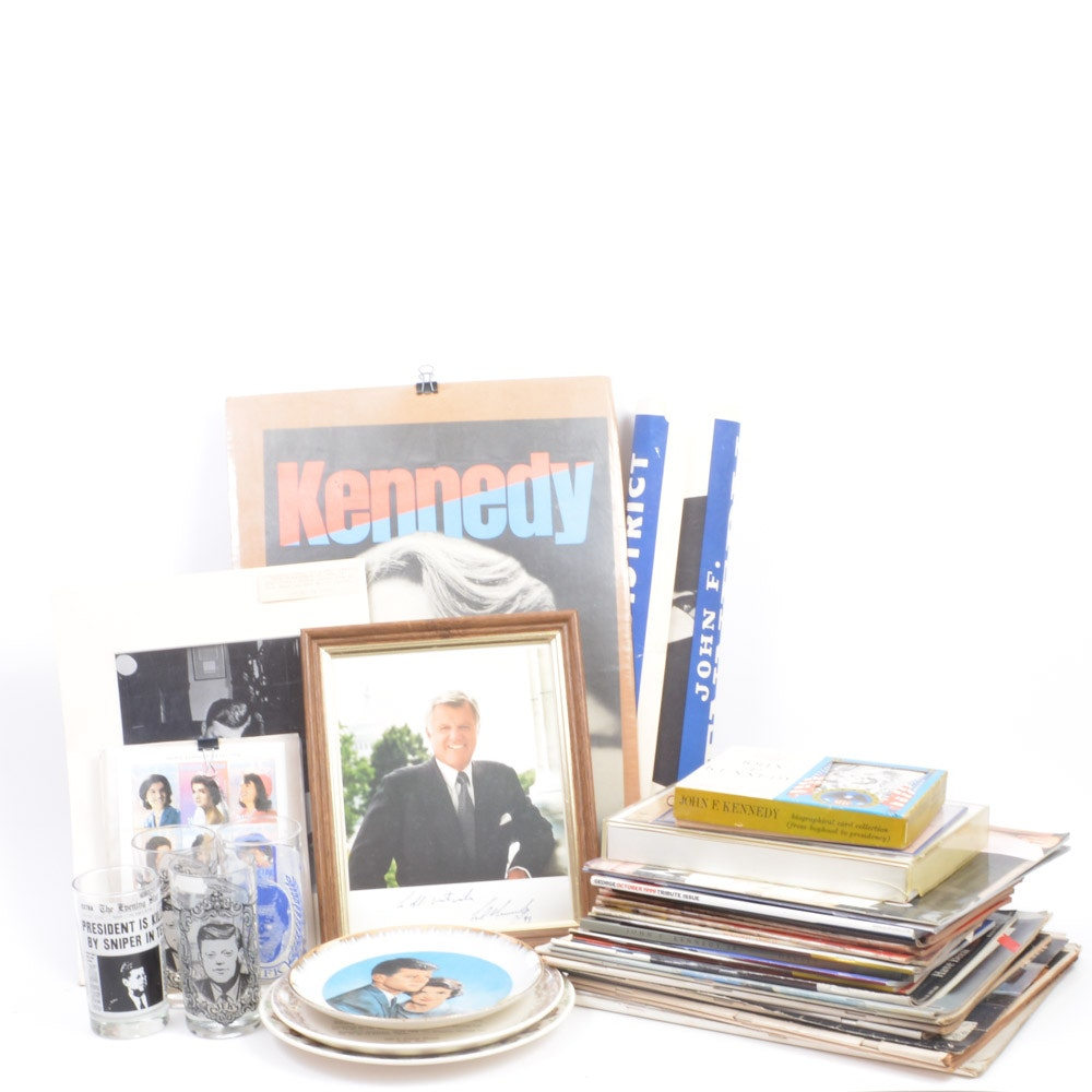Large Collection of Kennedy Family Memorabilia