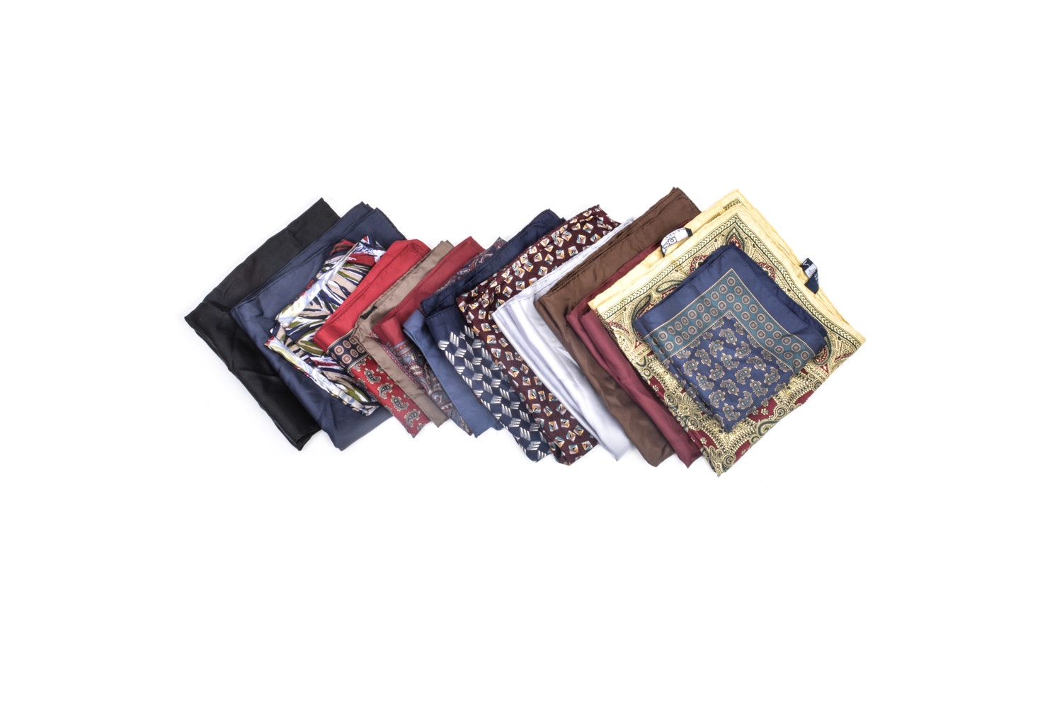 Silk Pocket Square Collection