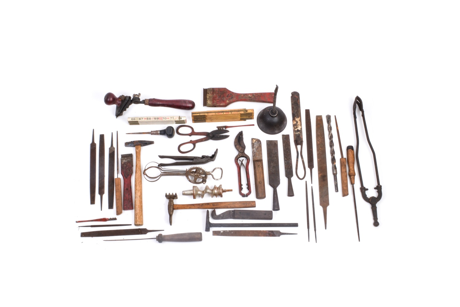 Collection of Vintage and Antique Tools