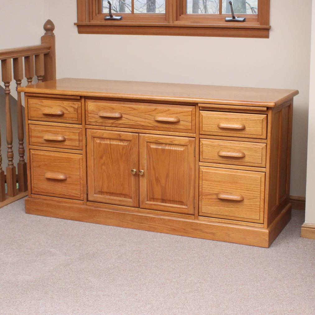 riverside furniture oak credenza - Riverside Furniture