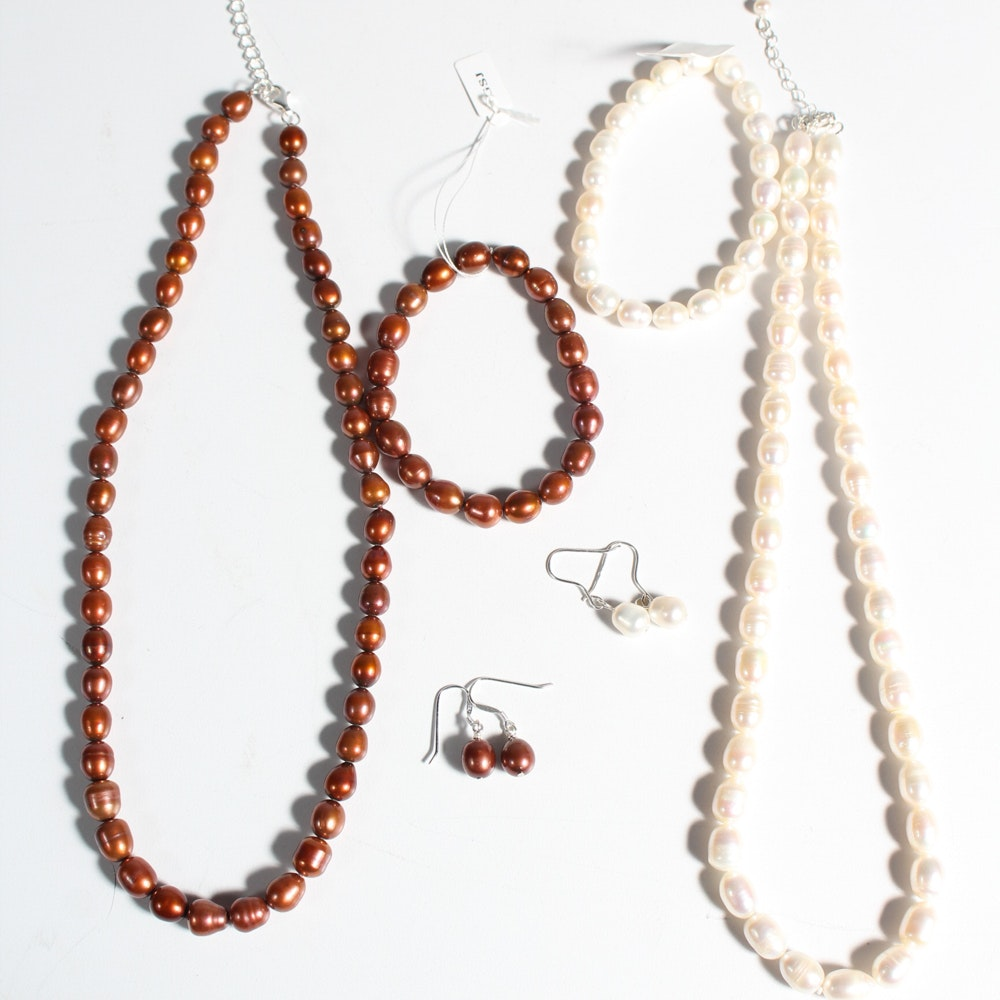 Cultured Freshwater Pearl Necklaces
