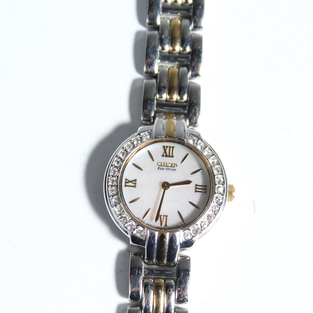 Women's Citizen Eco-Drive Watch with Mother of Pearl Face
