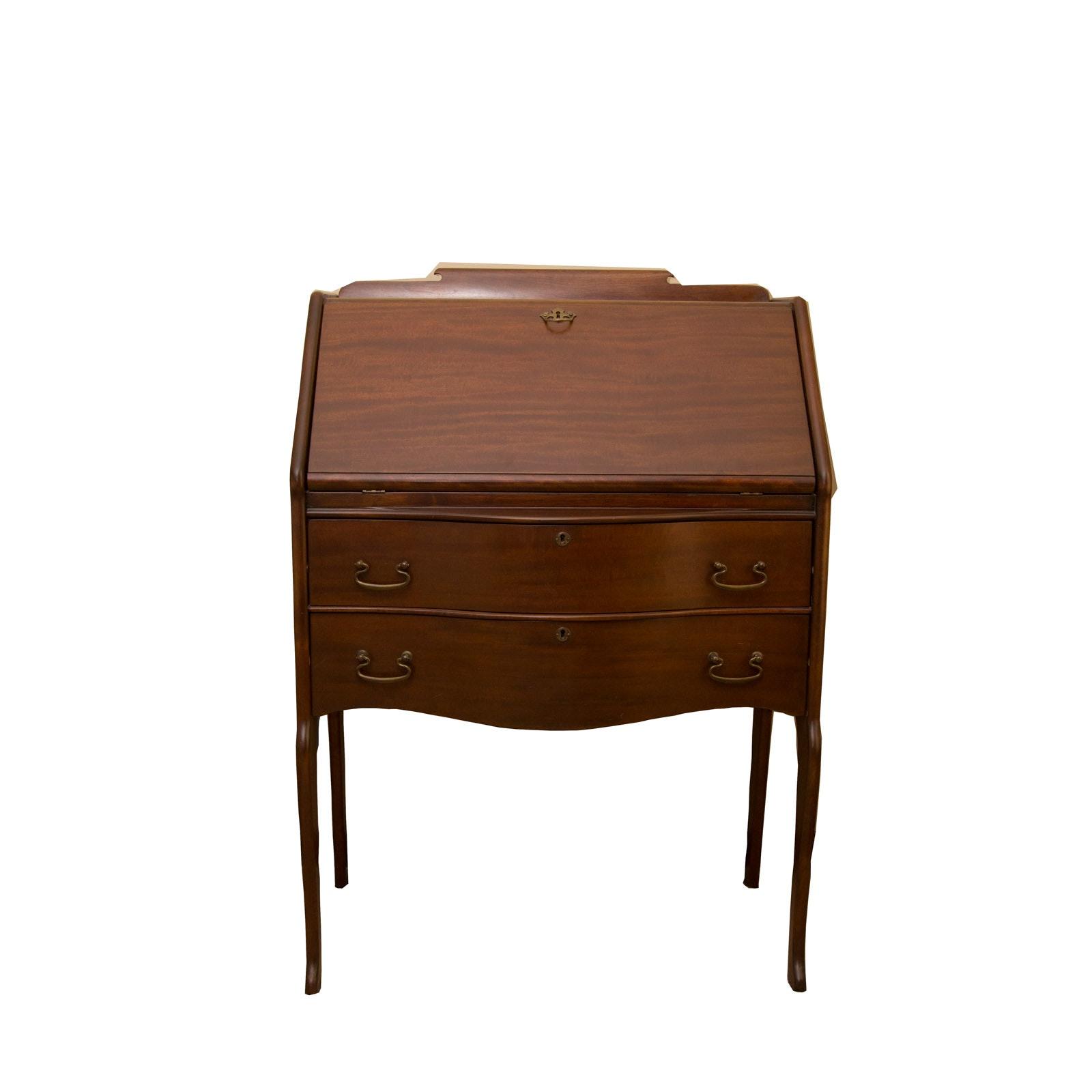 Vintage Wooden Secretary