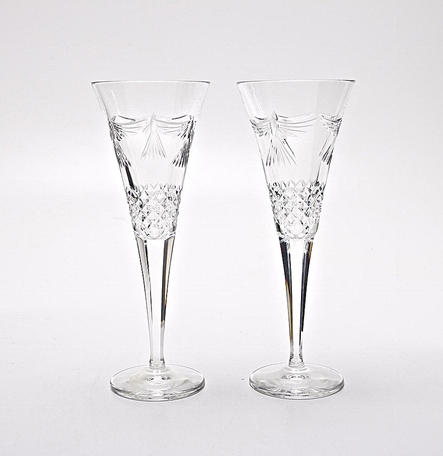 Waterford Crystal Glasses With Doves