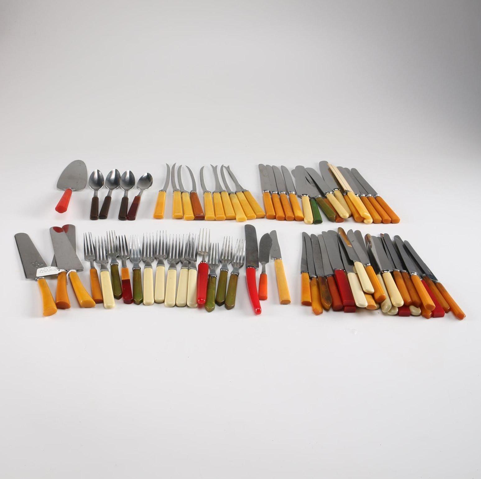Bakelite Flatware Collection