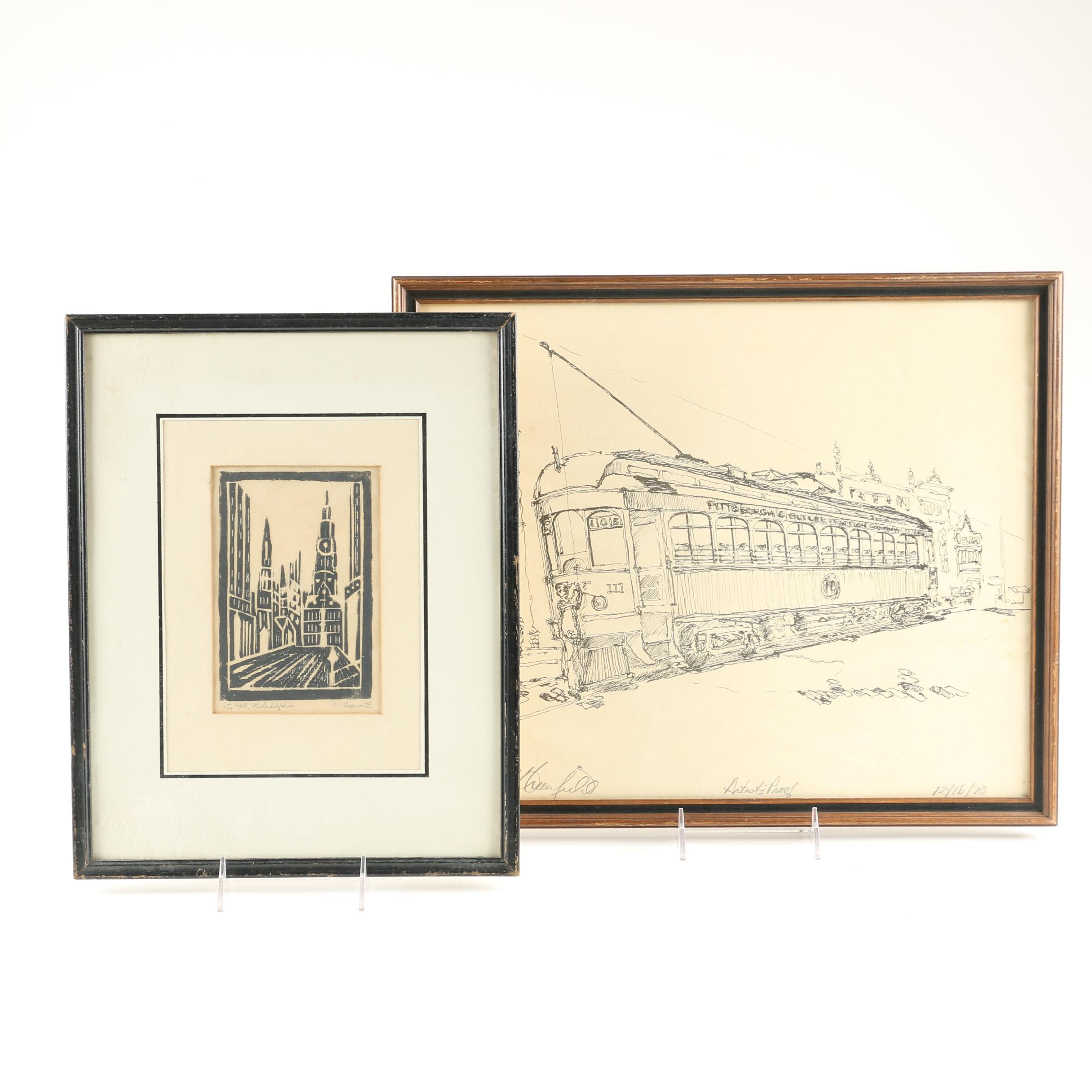 M.P. Sigworth and M.R. Greenfield City Scenes
