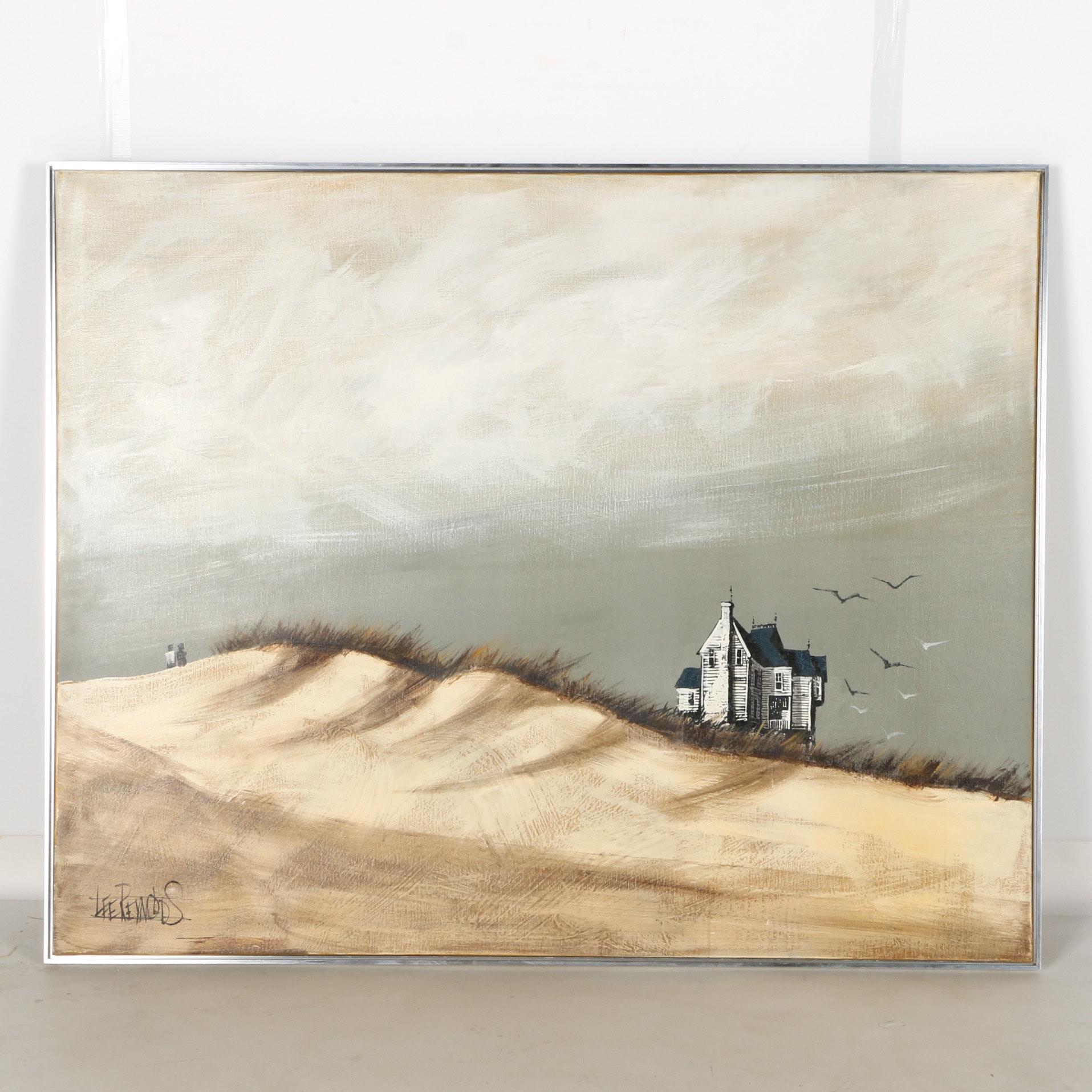 Vanguard Studios Embellished Silkscreen on Canvas