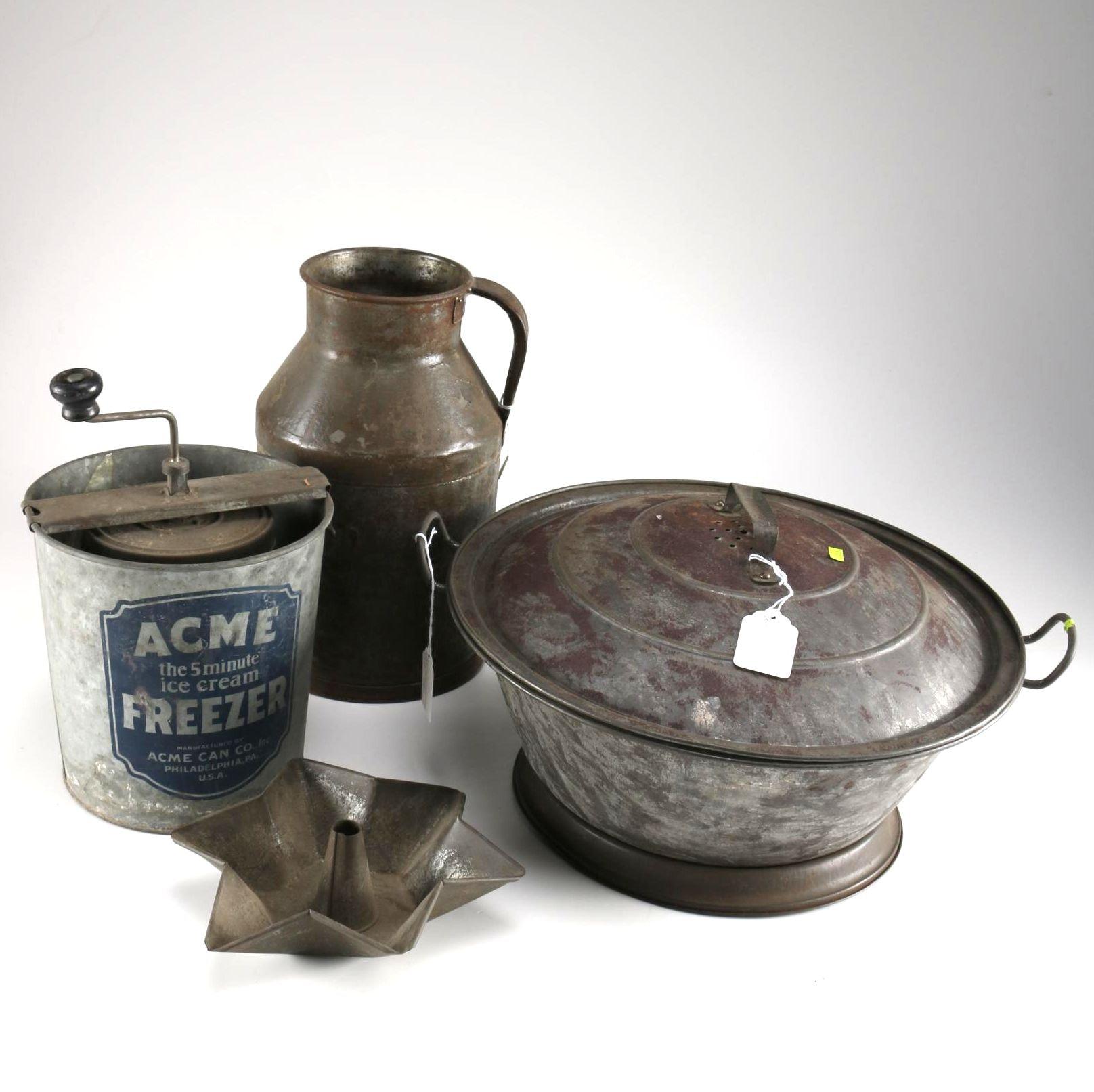 Cast Iron and Copper Kitchenware