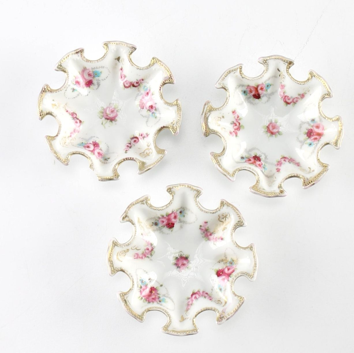 """Noritake """"Nippon"""" Hand Painted Dishes"""