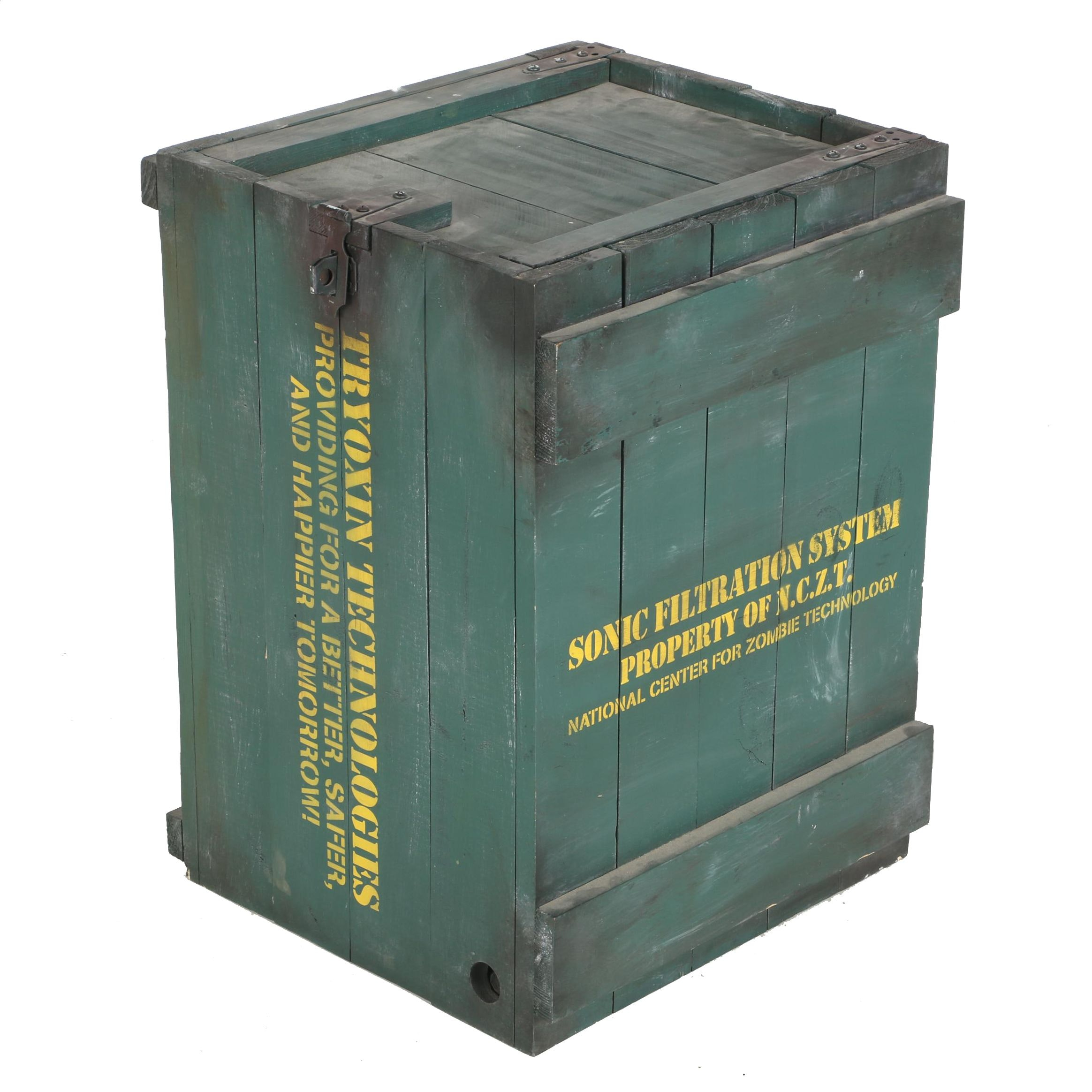 Halloween Prop Zombie Containment Box