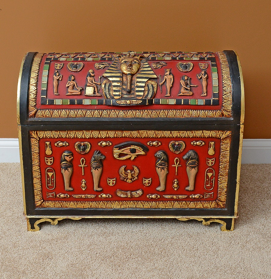 Egyptian inspired modern day style - Ancient Egyptian Inspired Chest