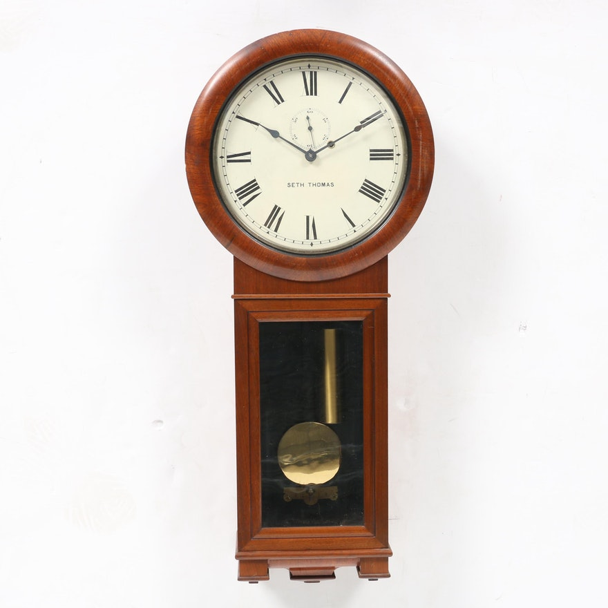 Antique Seth Thomas Wall Clock Value Best 2000 Antique