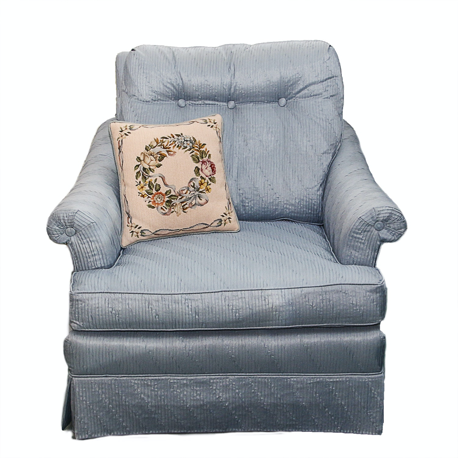 Light Blue Armchair ...