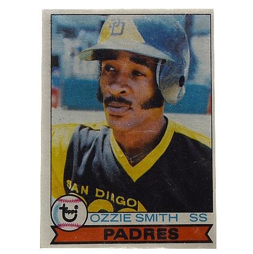 1979 Ozzie Smith Topps Rookie Card