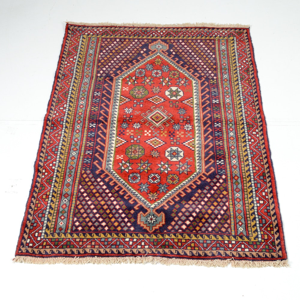 Hand Knotted Persian Khorasan Area Rug