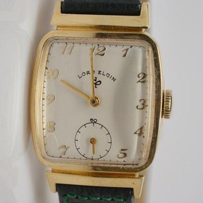 Lord Elgin 14K Yellow Gold Wristwatch