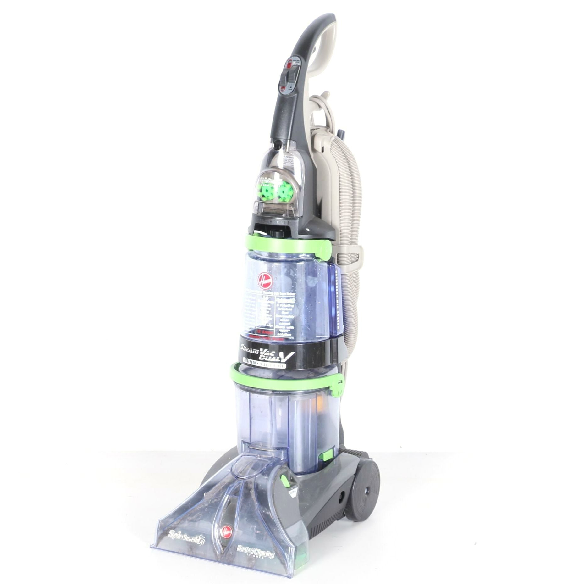 How To Use Hoover Steamvac Dual V Carpet Cleaner Www