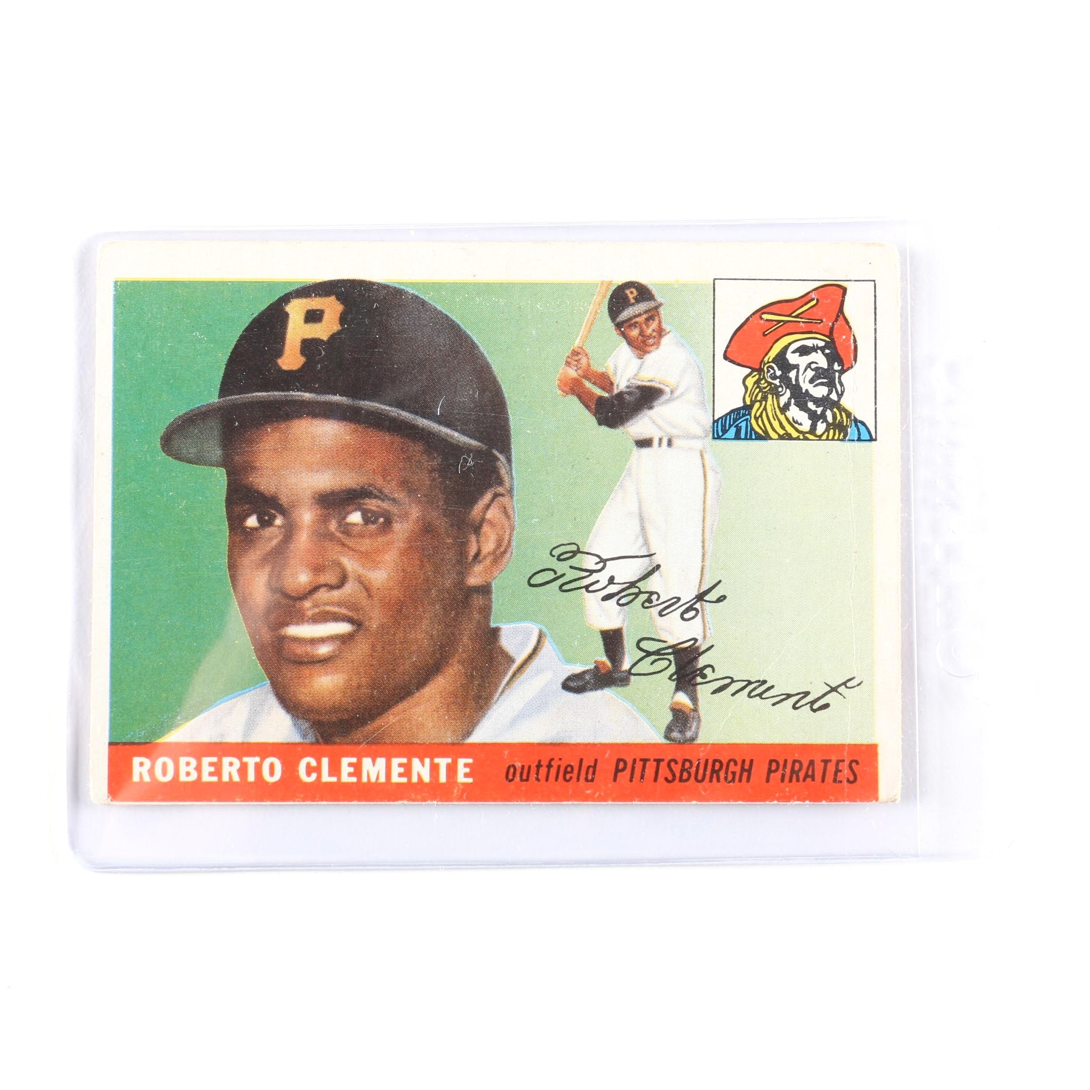 1955 Topps Roberto Clemente #164 Rookie Card