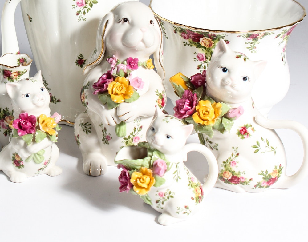 "Royal Albert ""Old Country Rose"" China"