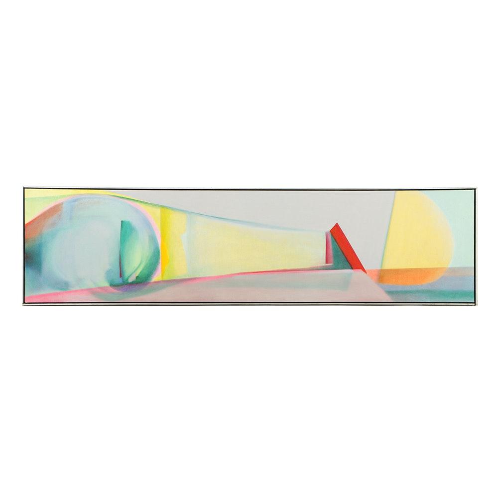 "Beth Hertz 1998 Oil Painting ""Tidal Wave"""
