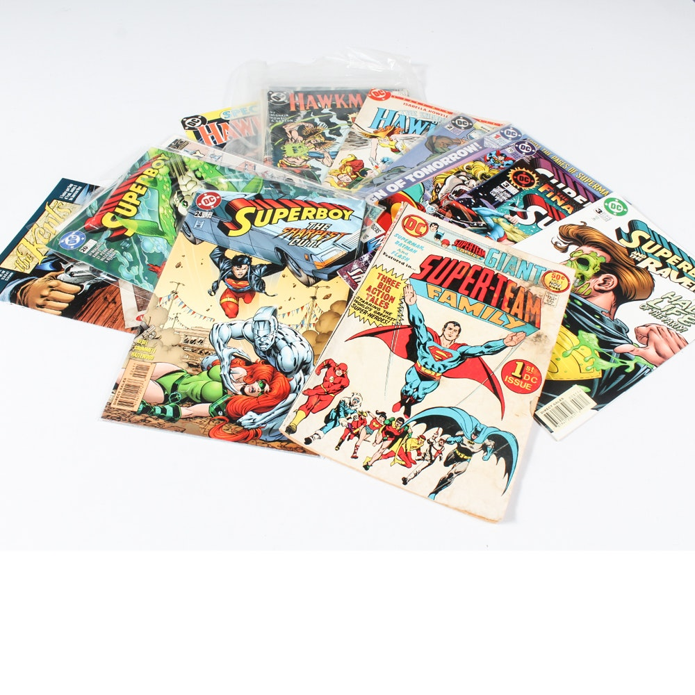 DC Comics of Superman and Friends